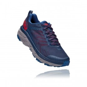 Tênis Challenger ATR 5 Masculino Hoka One One Dark Blue High Risk Red