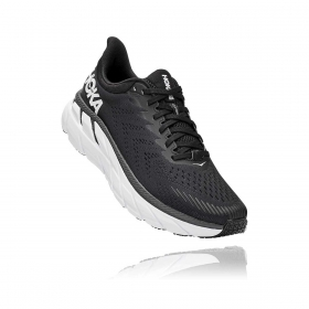 Tênis Clifton 7 Masculino Hoka One One Black White