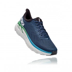 Tênis Clifton 7 Masculino Hoka One One Moonlit Ocean Anthracite