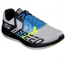 Tênis Go Run Razor 3 Feminino/ Masculino Skechers Preto e Cinza