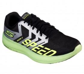 Tênis Go Run Razor 3 Feminino/ Masculino Skechers Preto e Verde