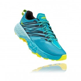 Tênis Speedgoat 4 Feminino Hoka One One Capri Breeze Angel Blue