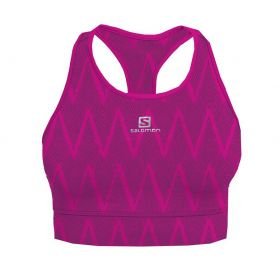 Top Impact Graphic Bra Salomon