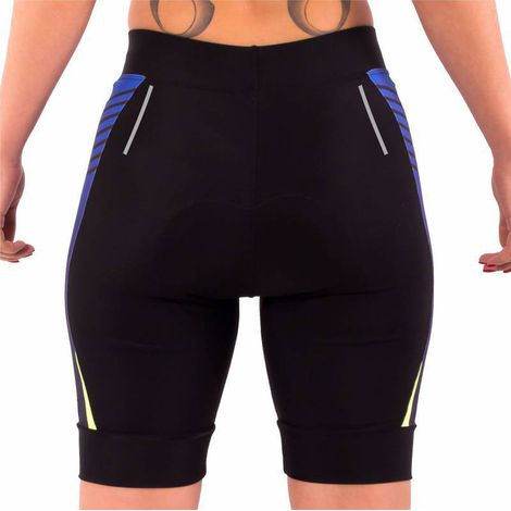 Short Bermuda de Compressão Bike Dx3 Feminina