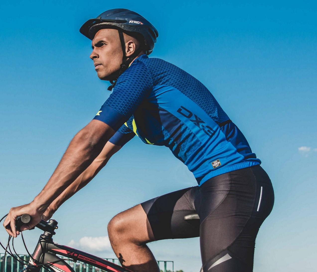 Bermuda para Ciclismo/ Bike com Forro de Espuma X-Pro Masculina DX-3