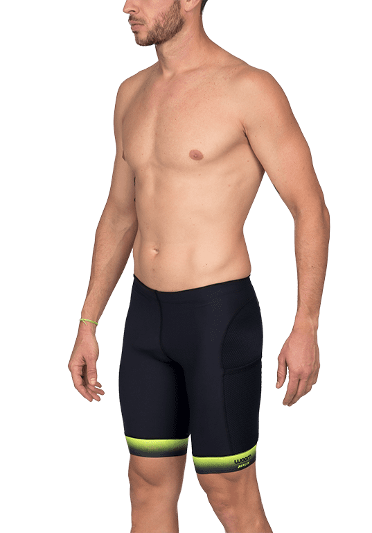 Bermuda de Compressão Running 140 Berlin Verde Masculino Woom