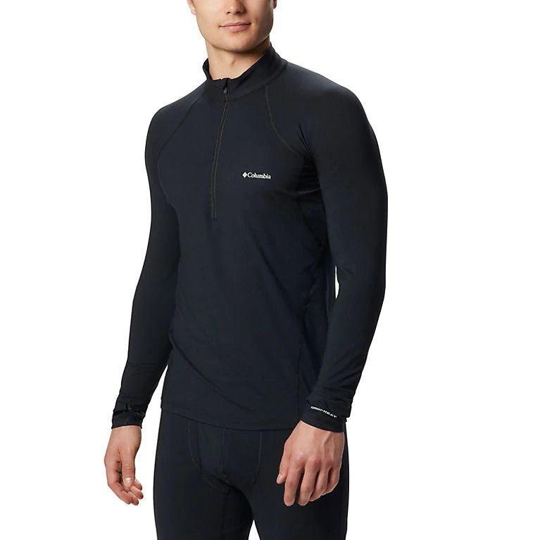 Camiseta/ Blusa Segunda Pele Térmica Manga Longa Columbia Midweight Stretch Half Zip Masculina