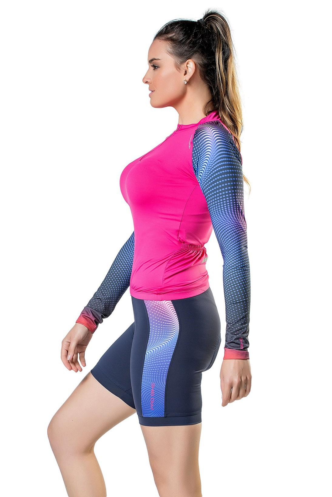 Blusa Para Ciclismo Special Feminina Elite Pink
