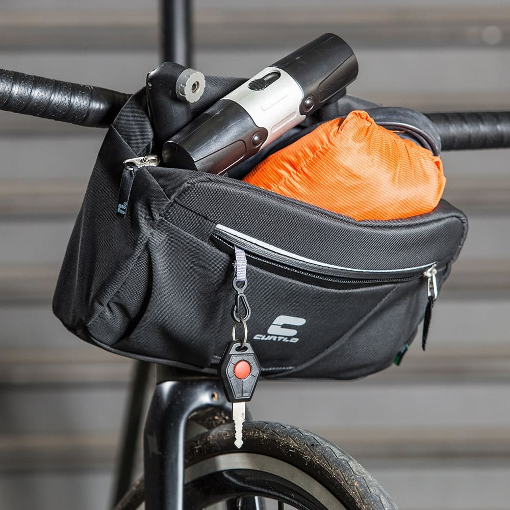 Bolsa De Guidão Para Bike Nomad 4,5 L Curtlo