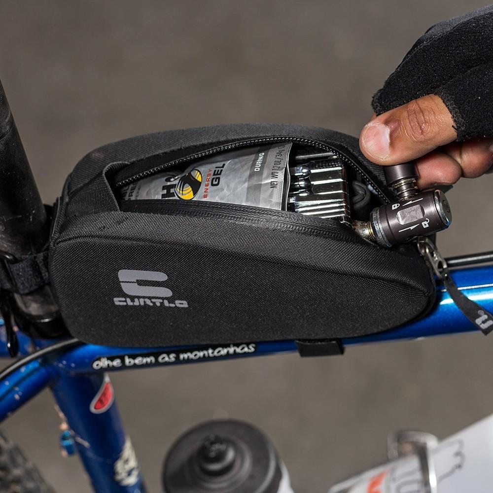 Bolsa De Quadro Para Bike Frame Box P Curtlo Preto