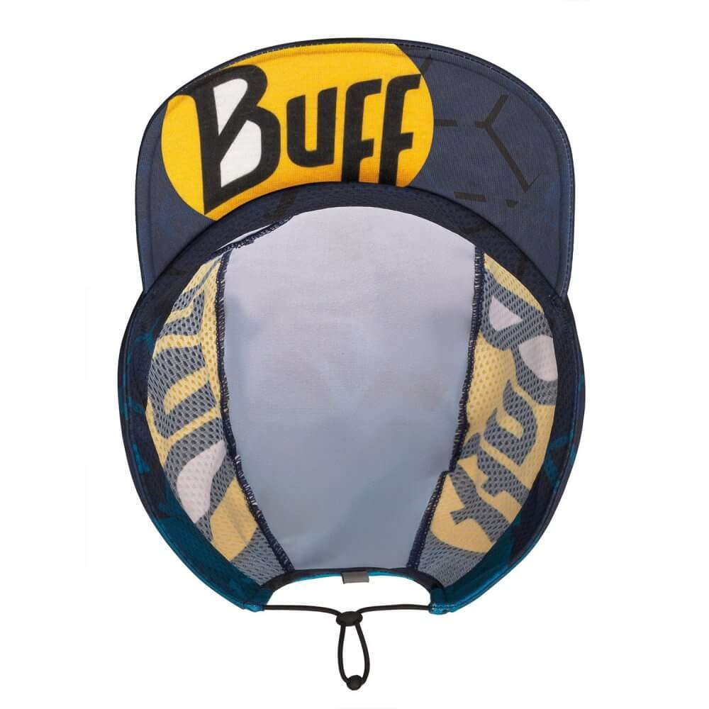 Boné Pack Run Cap R-Flash Logo Buff Black