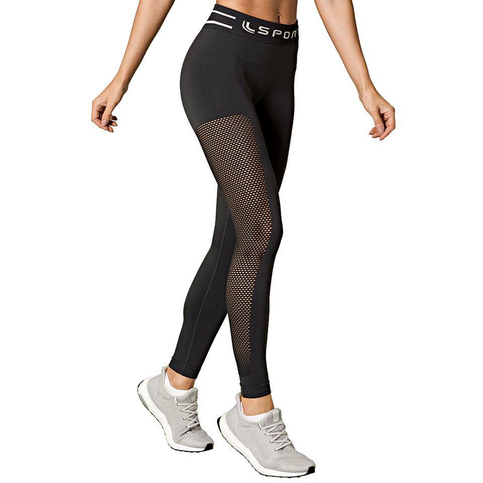 add4788a2 Calça Legging Ls Arrastão Feminino Lupo - Equilíbrio Esportes