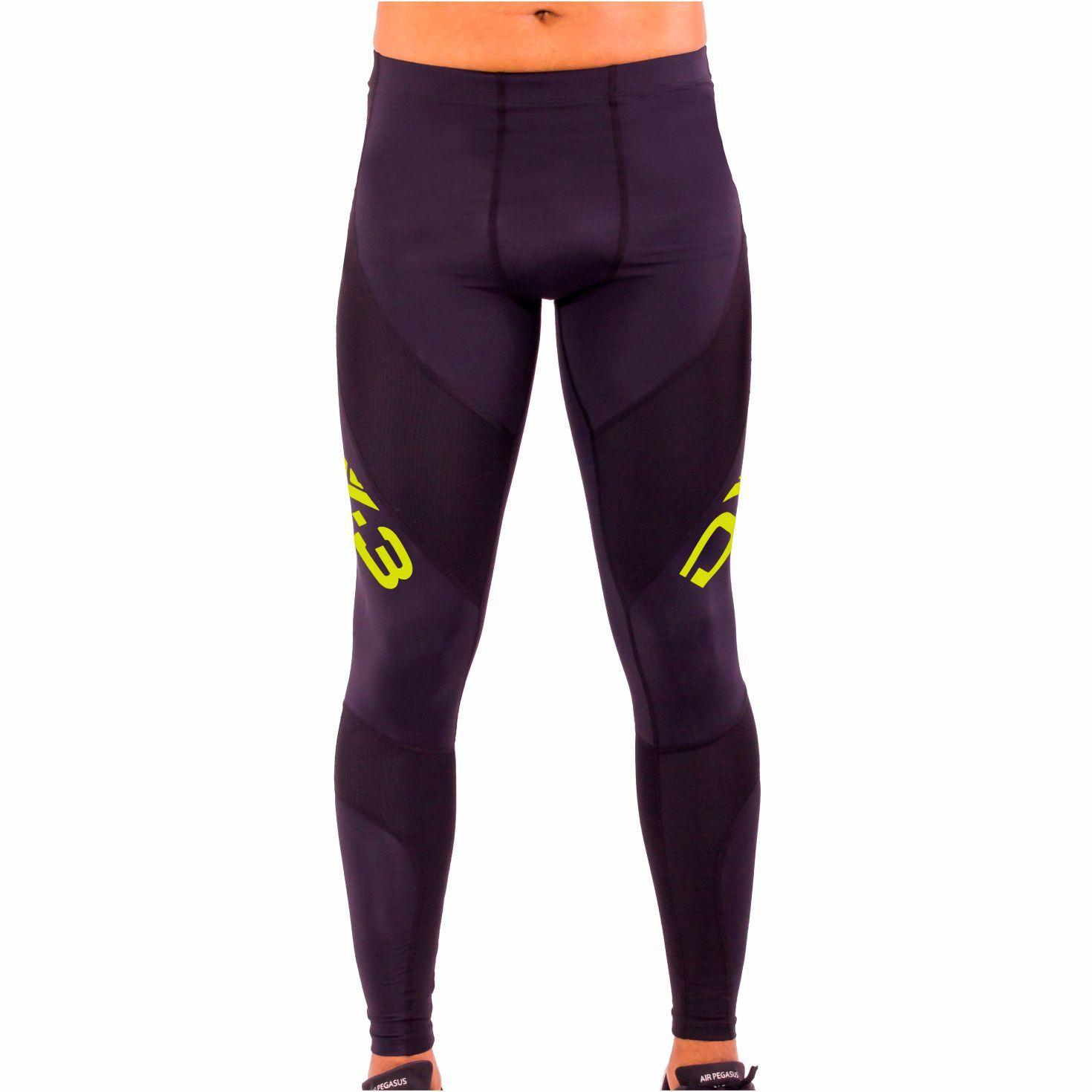 Calça Dx3 Xpro de Compressão Masculina Para Corrida Fitness Trekking