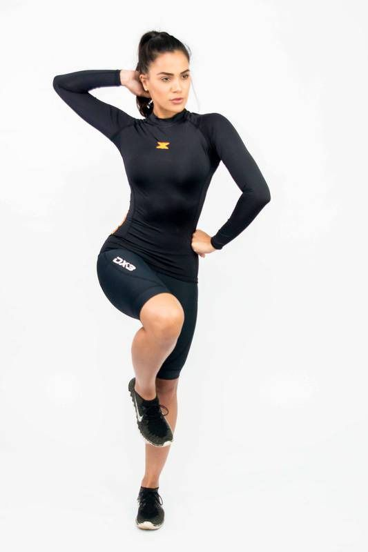 Camisa Manga Longa Compressão Uv50 Feminina DX3