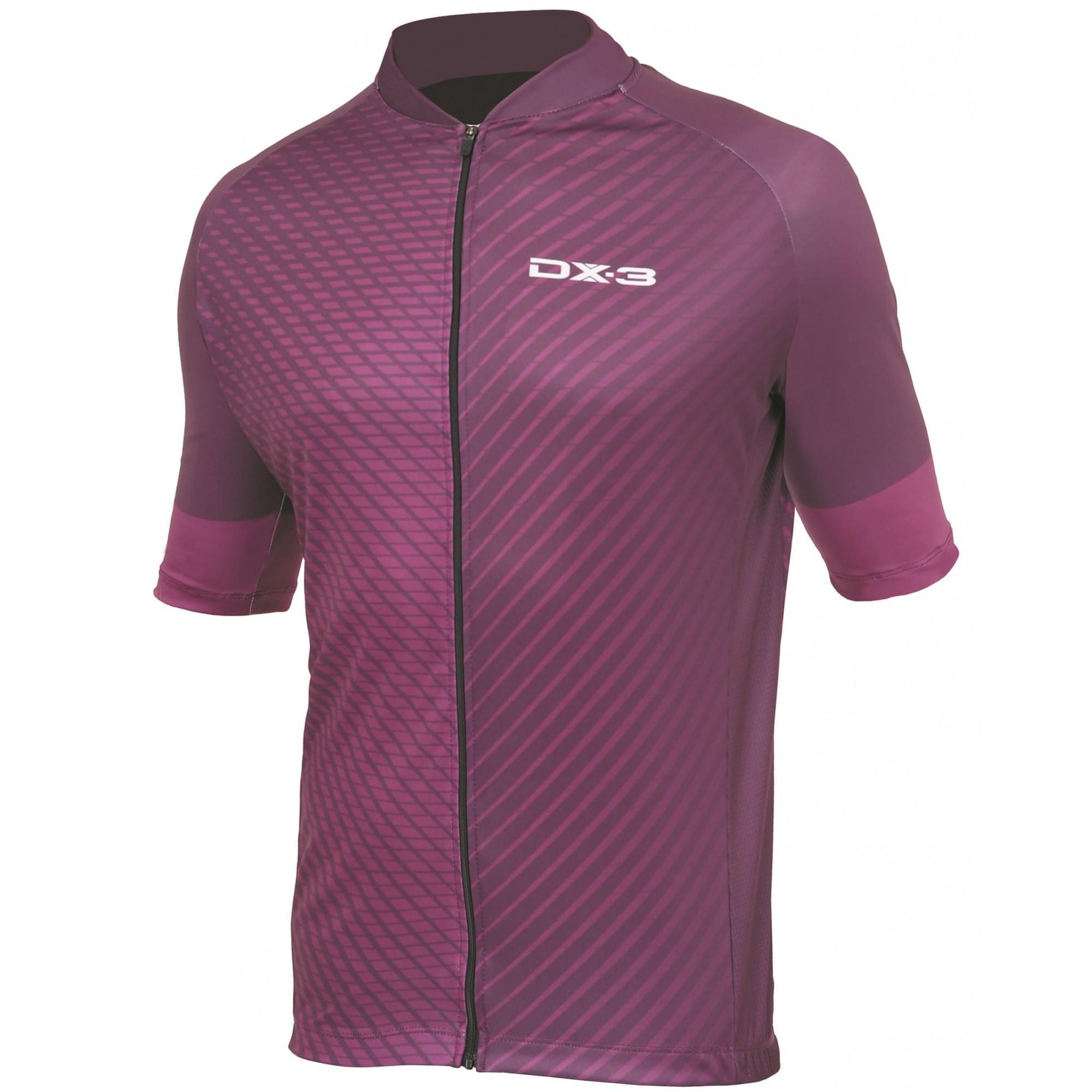 Camisa Ciclismo Masculina Fusion DX-3 Vinho