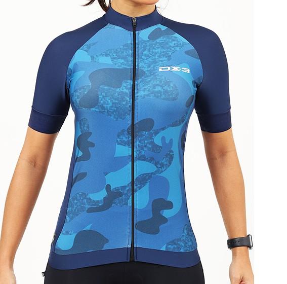 Camisa Ciclismo Fast Feminina DX3