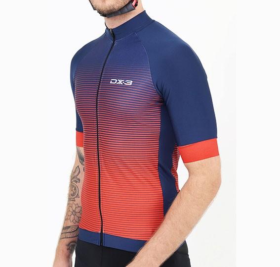 Camisa Ciclismo Fast Masculina DX-3 MarInho