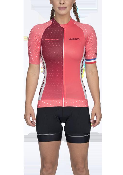 Camisa Ciclismo Supreme Marselle Preto Feminino Woom
