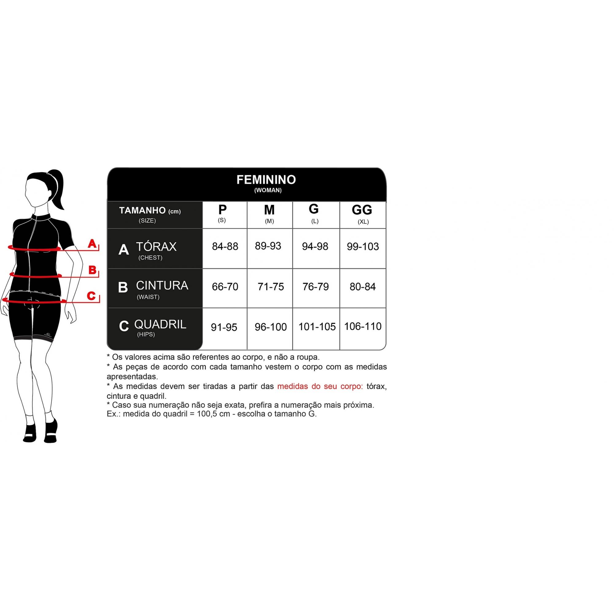 Camisa Para Ciclismo Manga Longa Weft ML Feminina Mauro RIbeiro