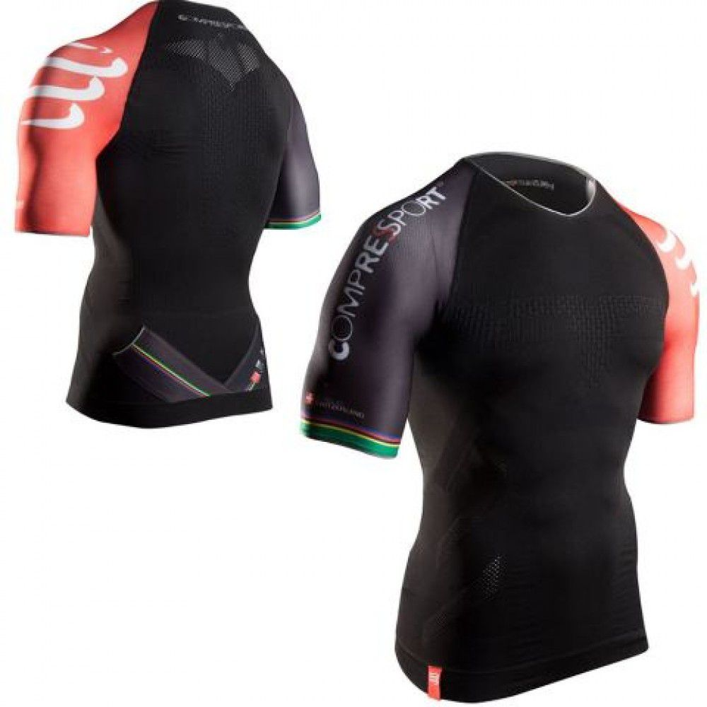 Camisa Para Triathlon Tr3 Masculina Compressport
