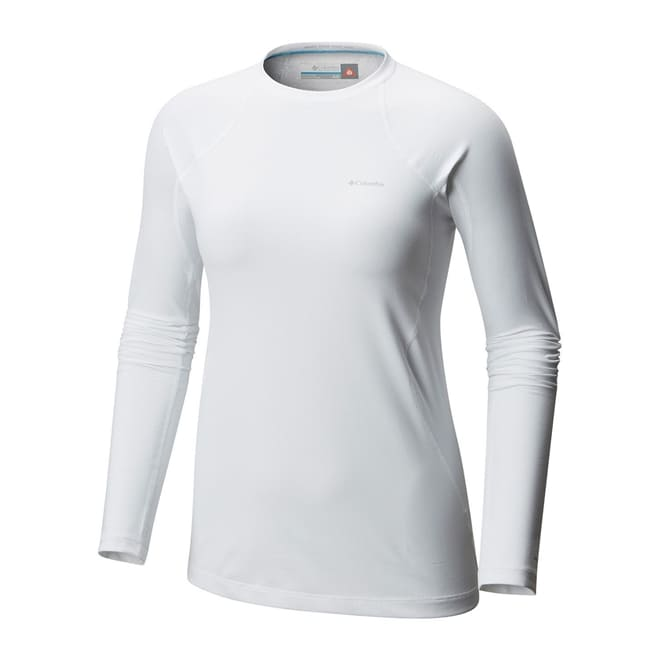 Camiseta/ Blusa Manga Longa Térmica Columbia Midweight II Long Sleeve Top Feminina Preta