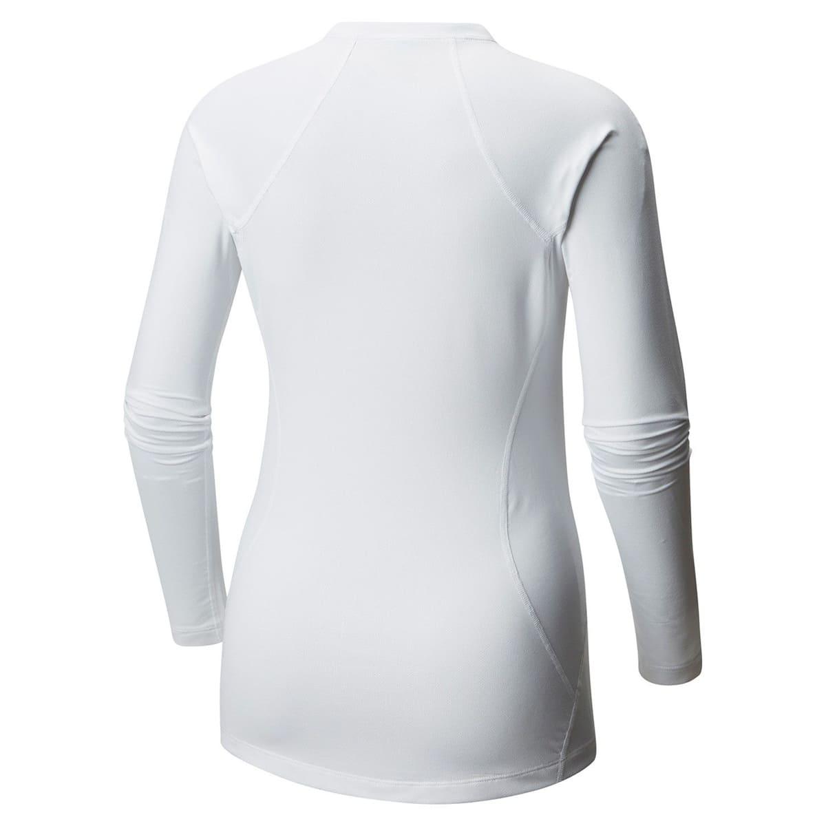 Camiseta/ Blusa Segunda Pele Manga Longa Térmica Columbia Midweight II Long Sleeve Top Feminina Preta