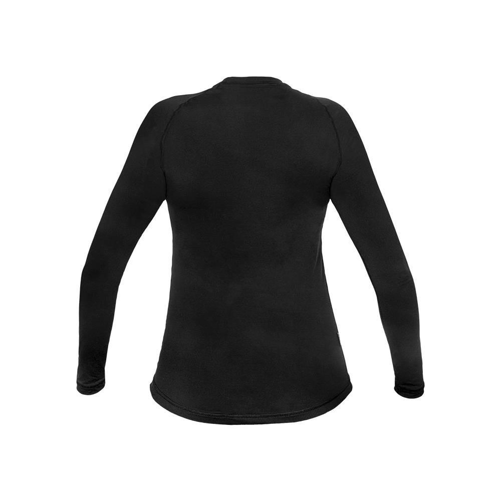 Camiseta/ Blusa Segunda Pele Térmica Manga Longa ThermoSense Feminina Curtlo