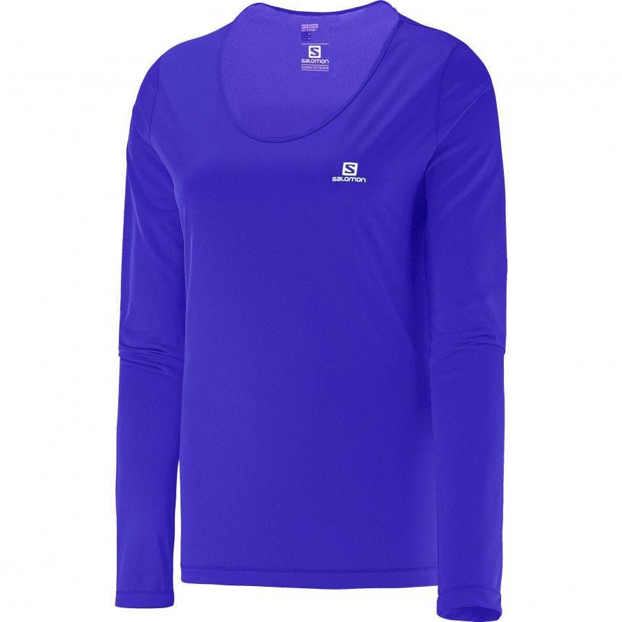 Camiseta Manga Longa Blusa Comet Ls Feminino Salomon
