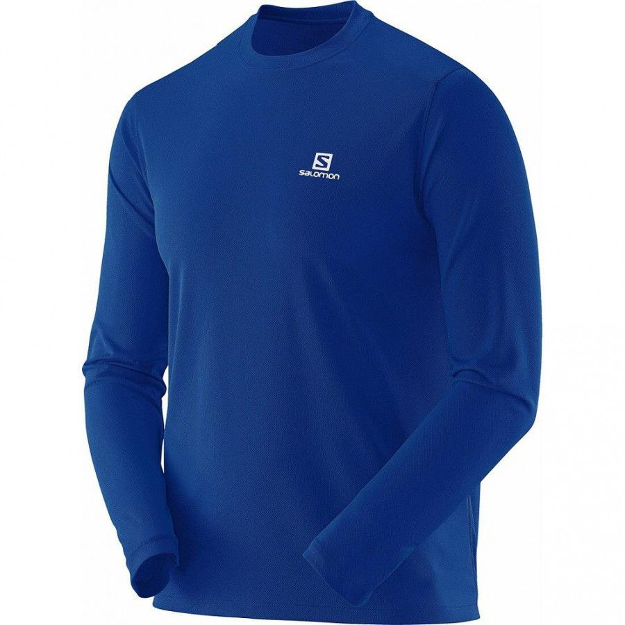 Camiseta Manga Longa Blusa Comet Ls Masculino Salomon