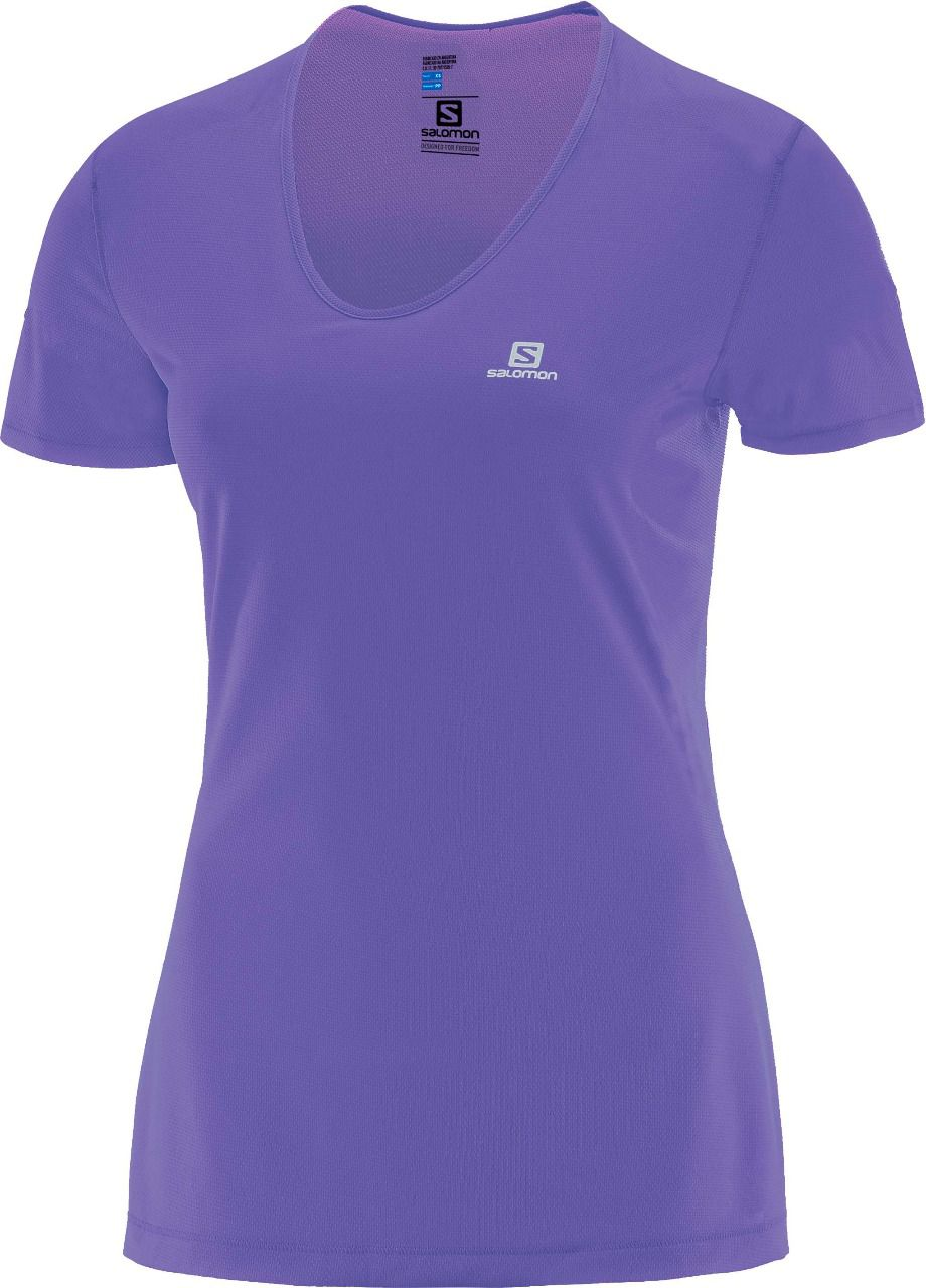 Camiseta Trail Running Comet SS Feminina Salomon