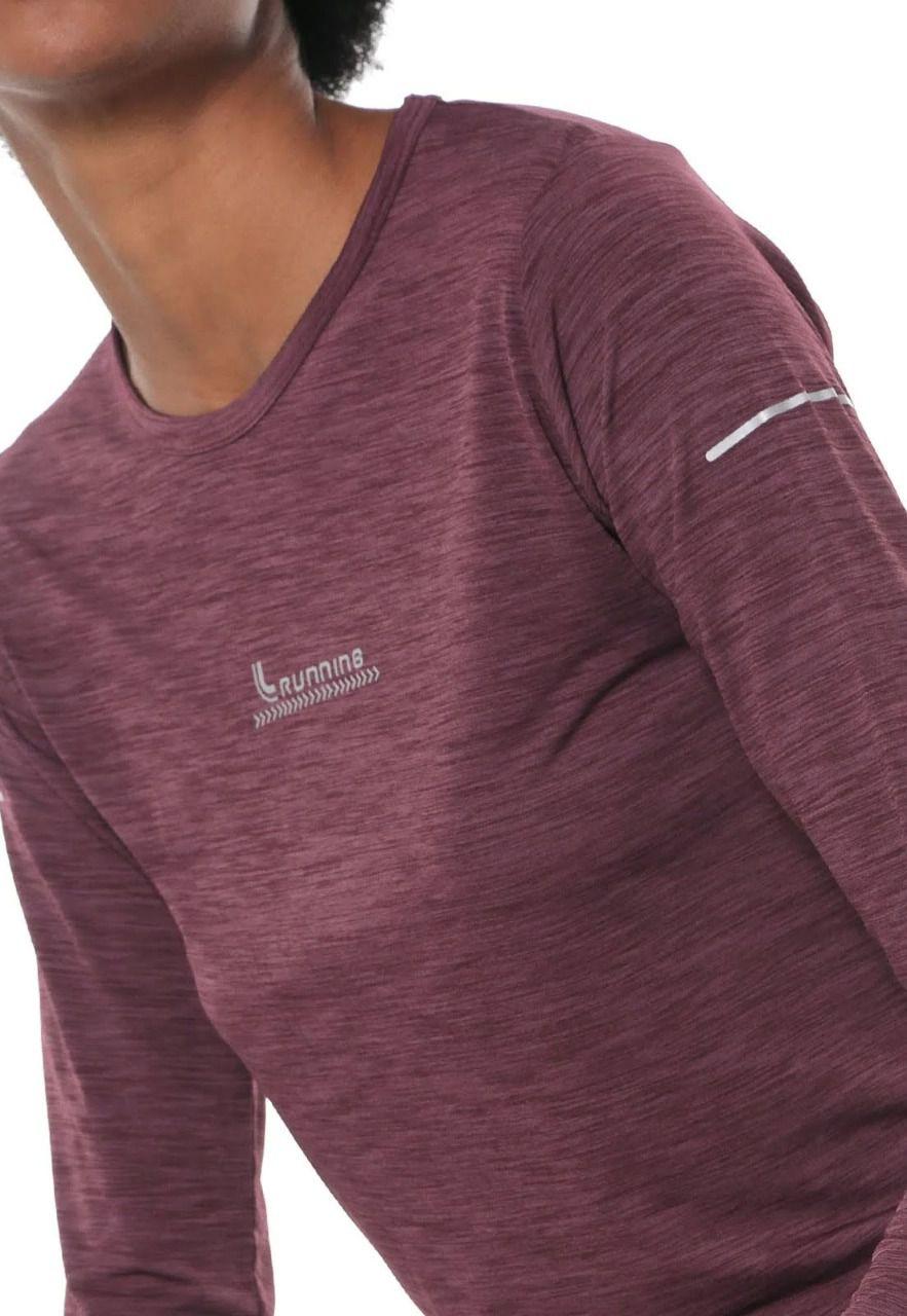 Camiseta Manga Longa Lupo Af Poliamida Feminina