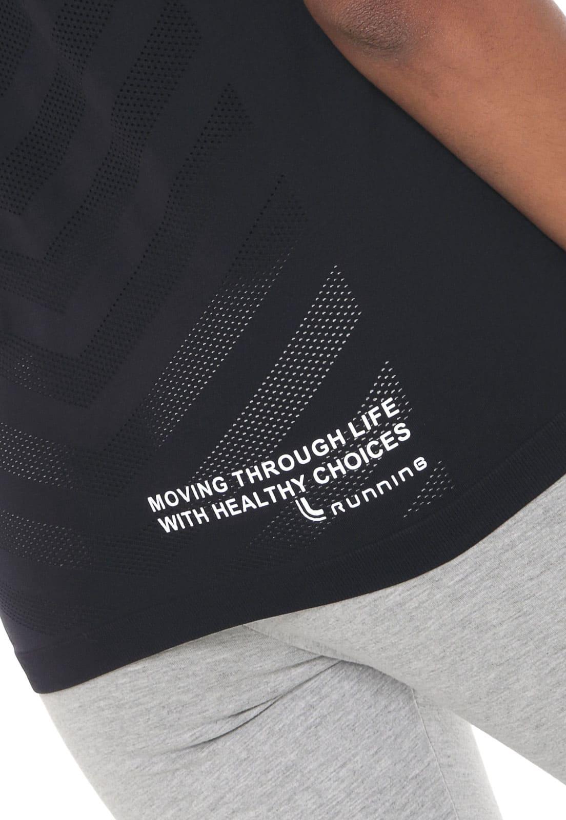 Camiseta Running AF Reg Capuz Feminino Lupo