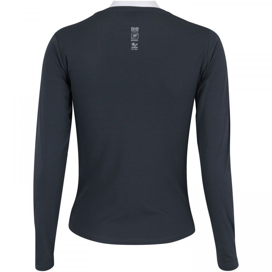 Camiseta Manga Longa Blusa T Shirt Repelente Uv Feminina Lupo