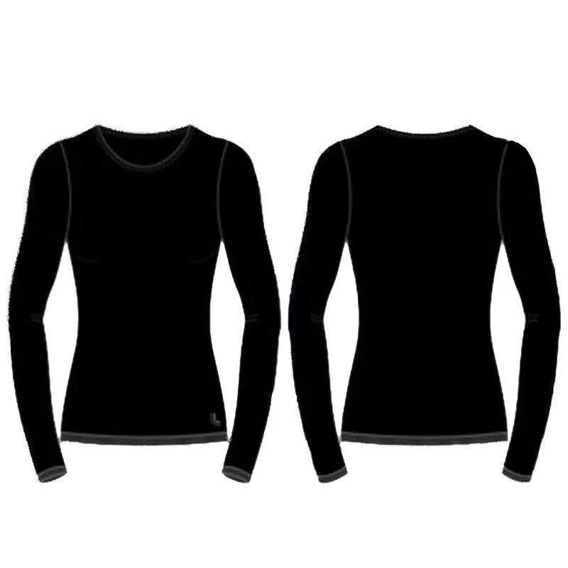 Camiseta/ Blusa Running Manga Longa T Shirt Térmica I Max Feminino Lupo