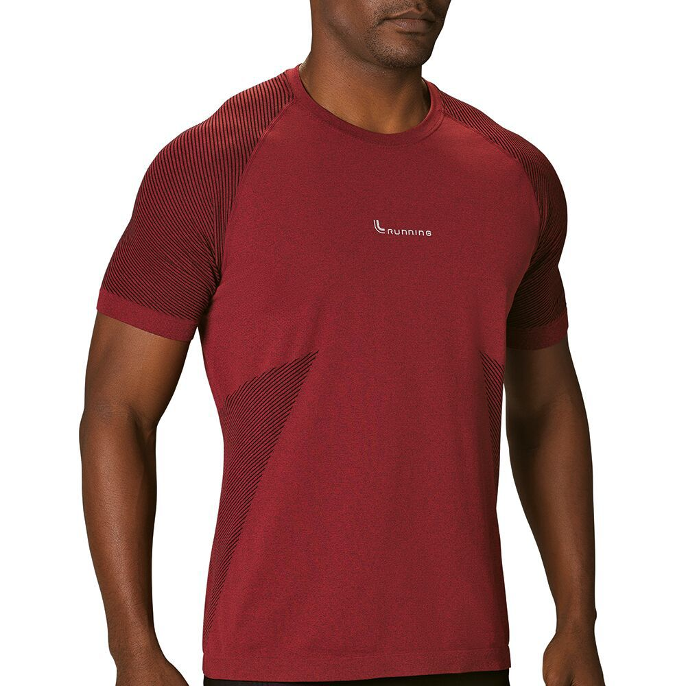 Camiseta Running Am Seamless Masculina Lupo