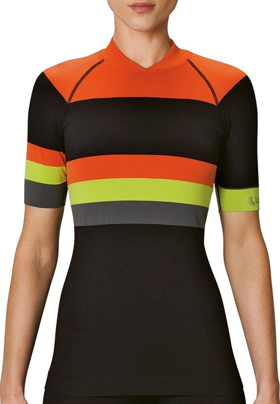 Camiseta T Shirt LS Bike Feminino Lupo Rosa