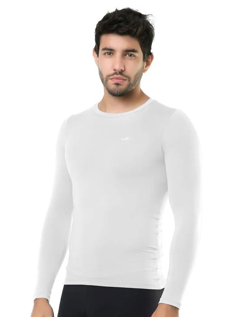 Camiseta Térmica Esportiva Manga Longa Masculina Elite