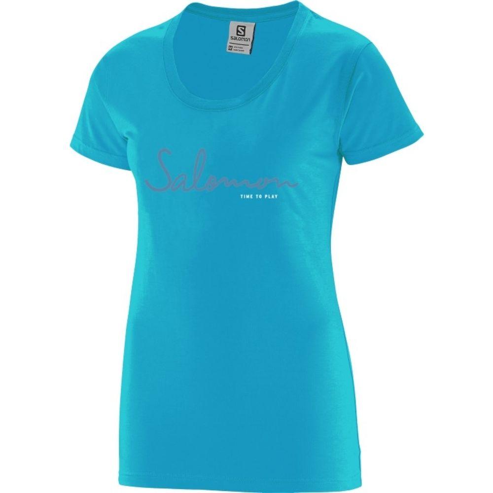 Camiseta Time To Play Tee Feminina Salomon