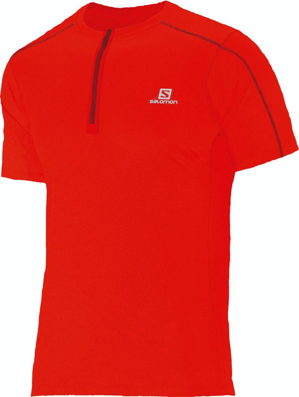 Camiseta Trail Running Action 1/2 Zip Salomon