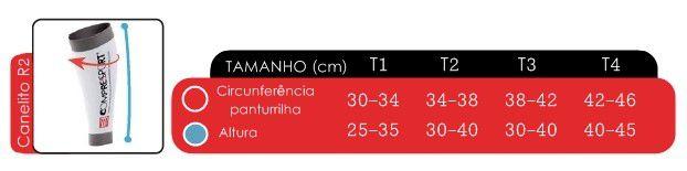 Canelito Pernito de Compressao R2V2 Unissex Compressport
