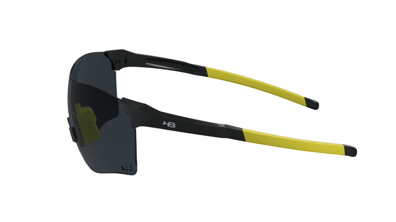 Óculos Quad F HB Gloss Black Gray