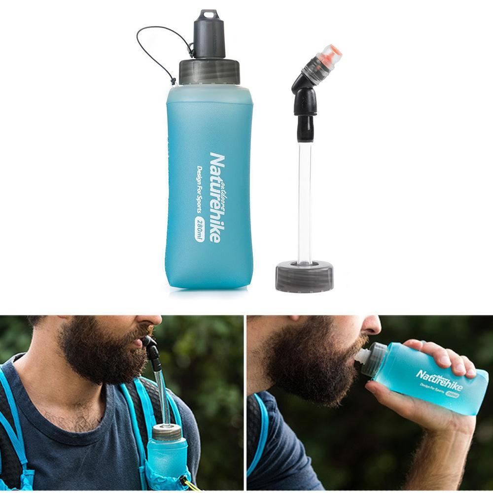 Garrafa Dobrável Flexível Ultra Trail 420 mL Flask NatureHike
