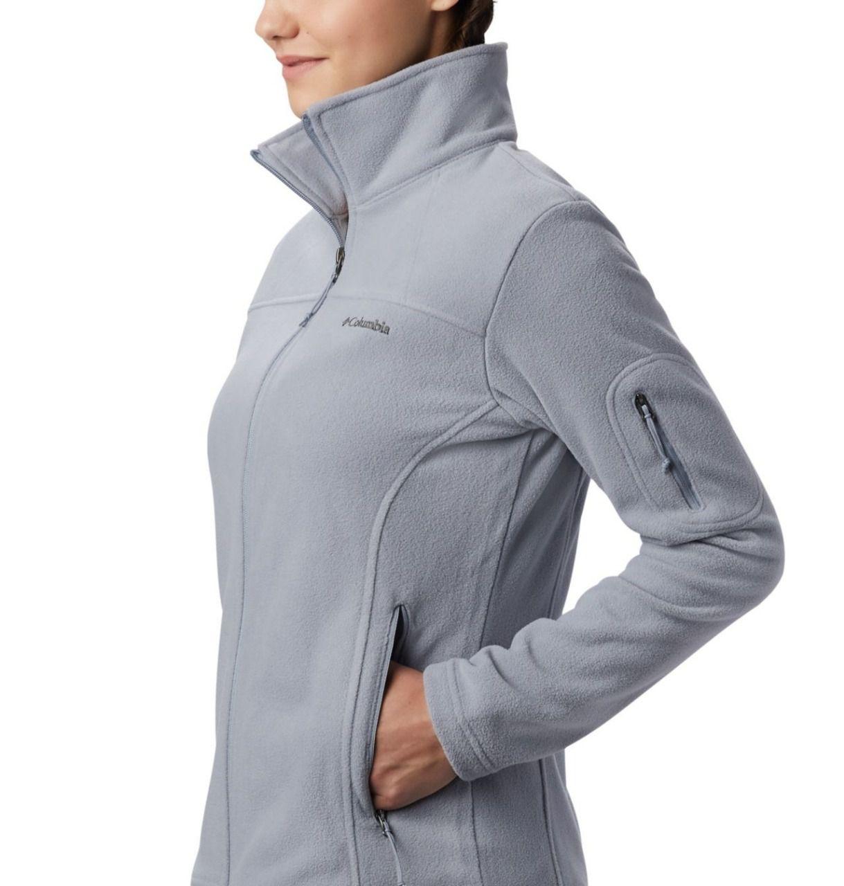 Jaqueta Fast Trek II Fleece Feminina Columbia Tradewinds Grey