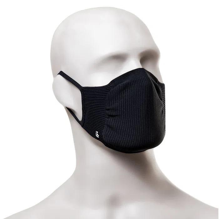 Kit Máscara AU Zero Cost. K2 Lupo (PRETA)