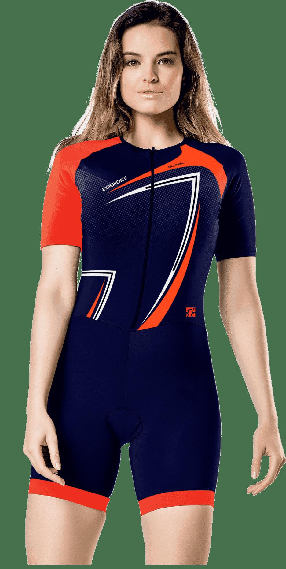 Macaquinho para Ciclismo com Forro de Espuma Elite
