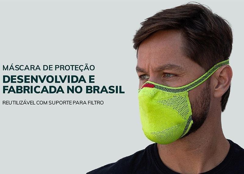 Máscara de Proteção Esportiva Knit Fiber