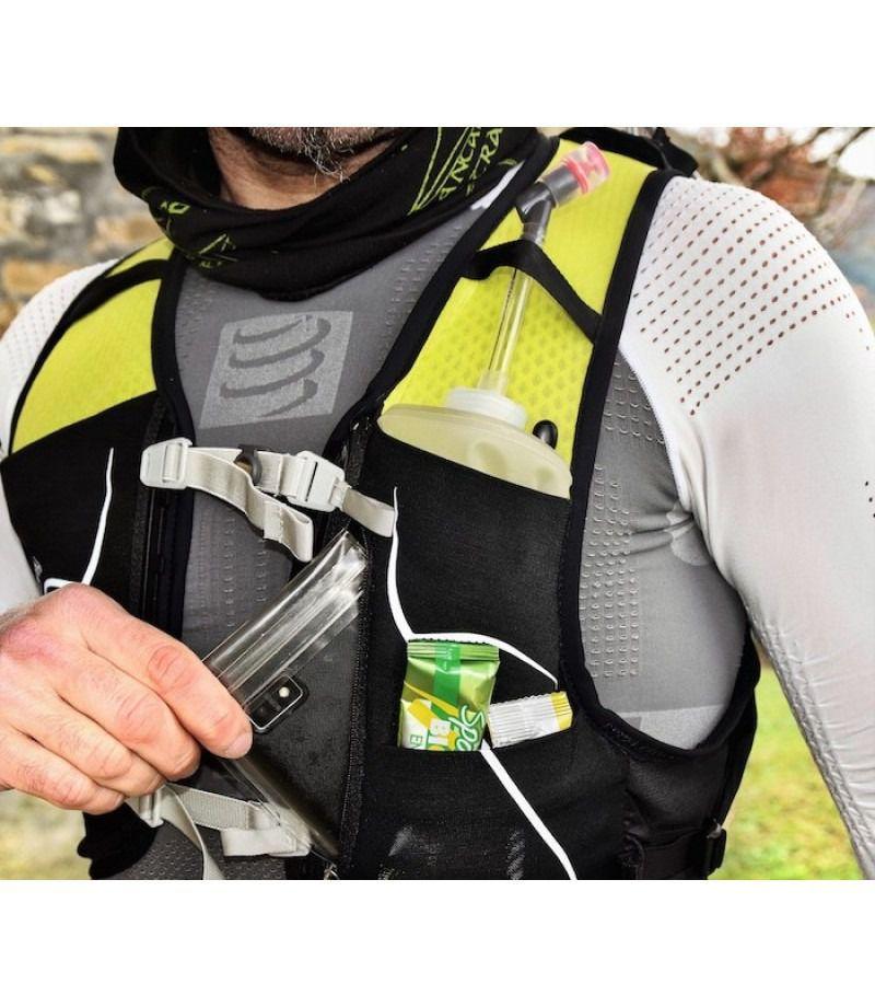 Mochila Duro 1.5 M G Com Flask Preta Unissex Osprey