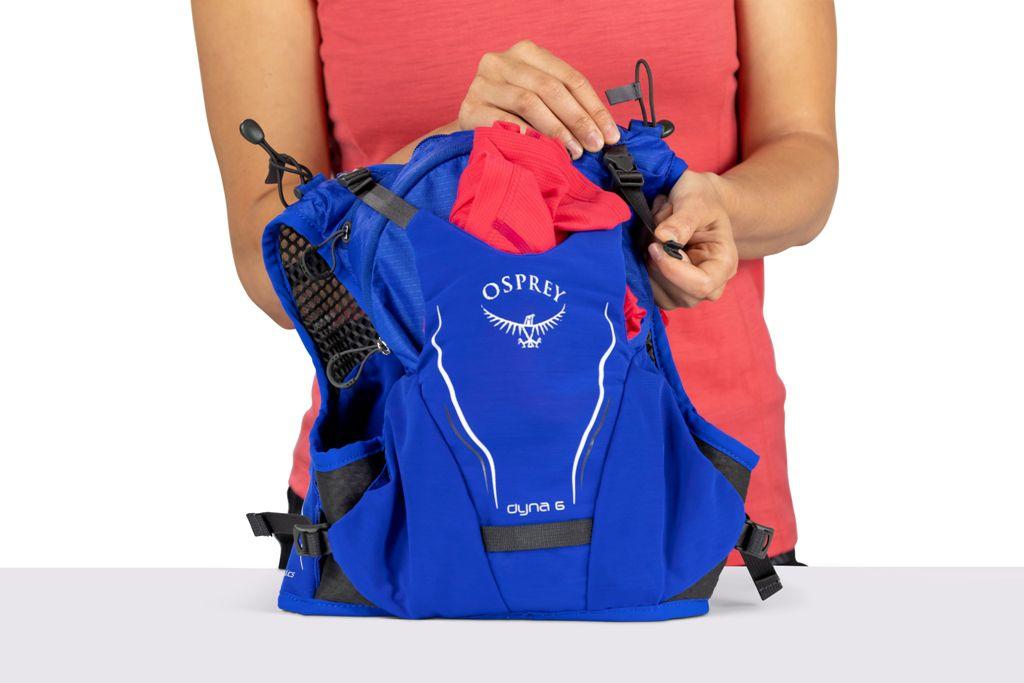 Mochila Dyna 6 P/M Roxo Com Flask Osprey