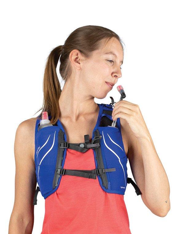 Mochila Feminina Dyna 6 P/M Com Flask Osprey Roxa