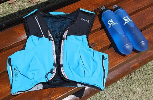 Mochila S/Lab Sense Ultra 5 Set Salomon Unissex